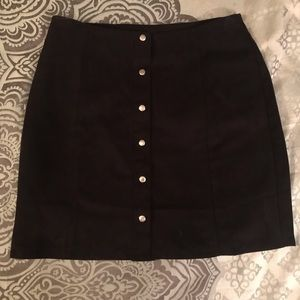 Never worn Forever 21 Button down skirt.